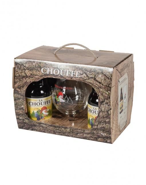Coffret Chouffe 4x33cl + 1 Verre