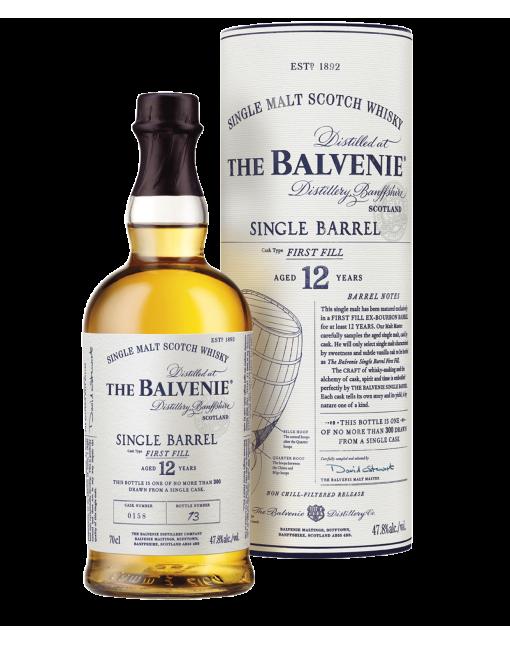 The Balvenie 12 Ans First Fill Single Barrel