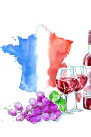 Tour de France des vins rouges