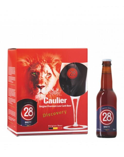 Coffret Caulier 4x33cl +1 Verre