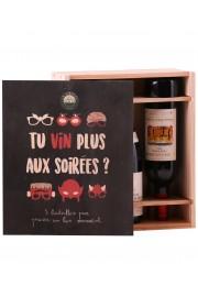 """Coffret """" Tu Vin Plus Aux Soirées ? """""""