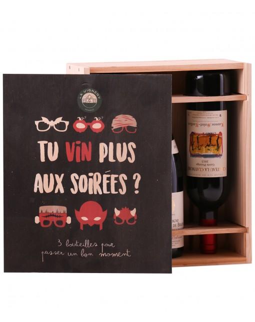 Coffret Tu Vin Plus Aux Soirées