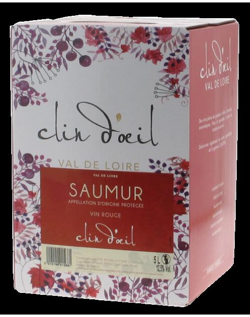 Cave De Saumur Clin D' Oeil Rouge 5 L
