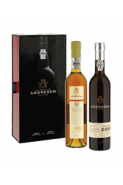 Coffret Andresen White And Tawny 2x50cl