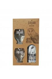 Coffret Noël Jenlain 1x75cl  + 2 Verres