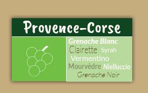 Route des vins de Provence-Corse