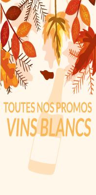 Vins blancs promotion