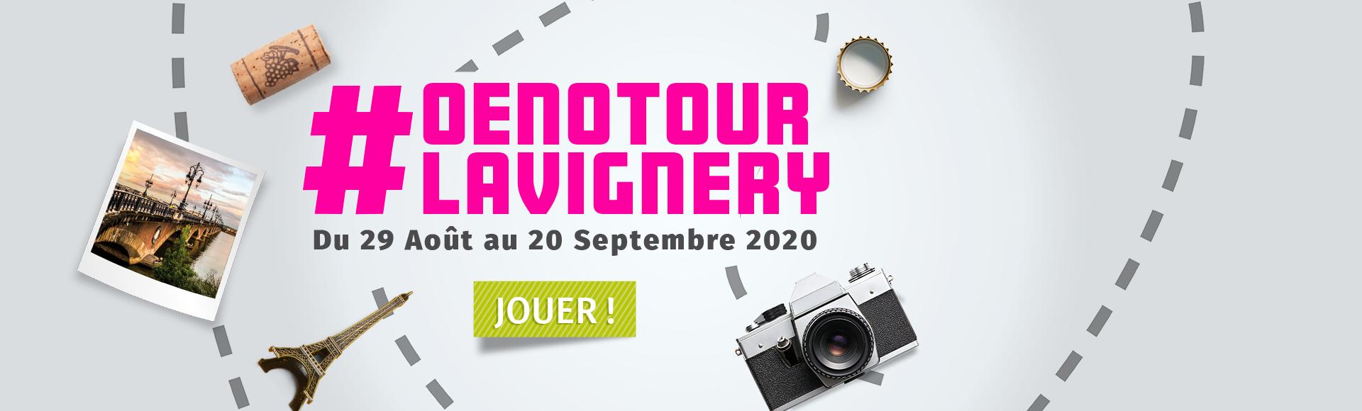 #Oenotour