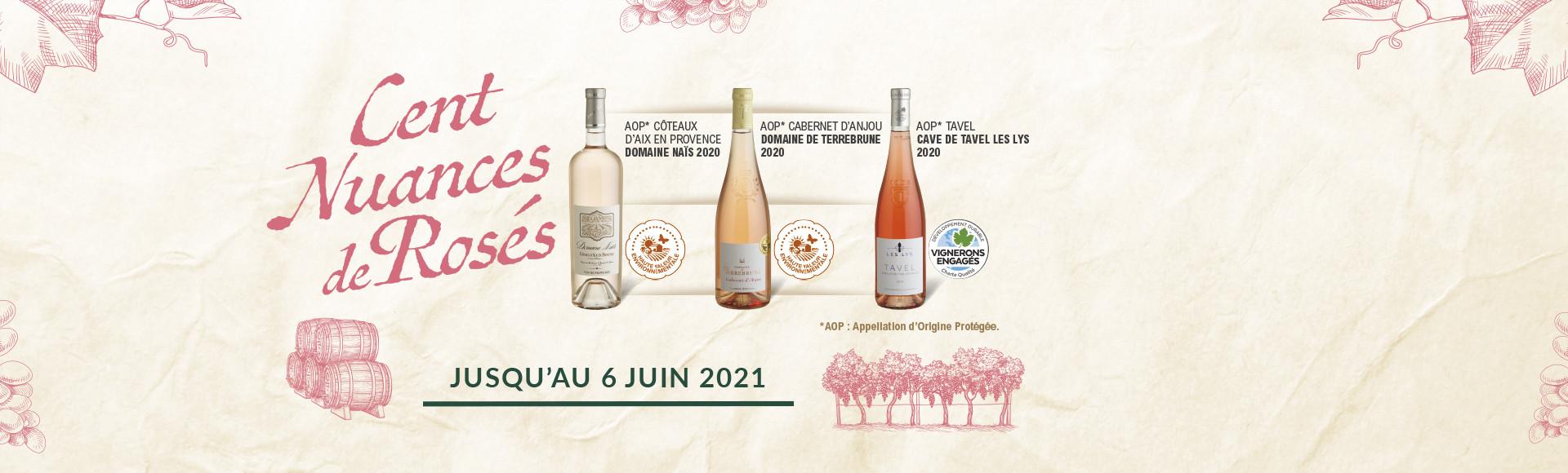 Collection Vins Rosés