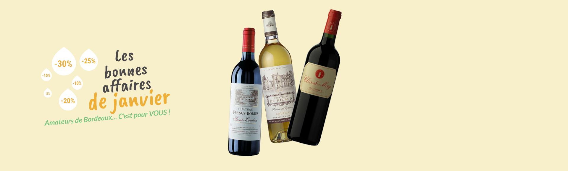 Les bonnes affaires Bordeaux !