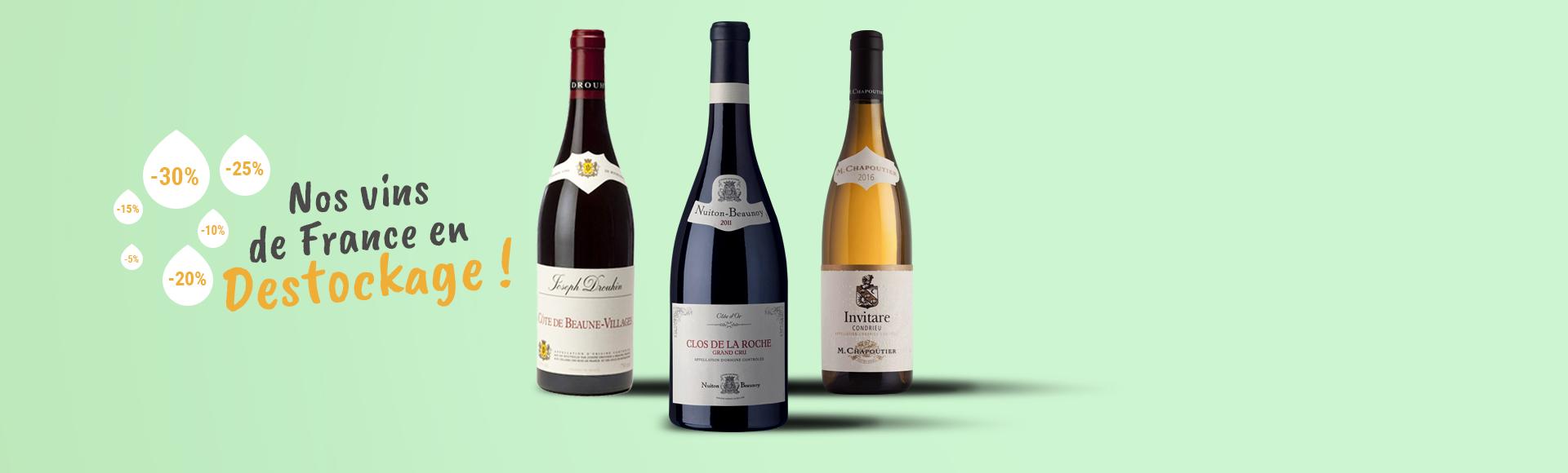 Meilleures affaires Vins de France