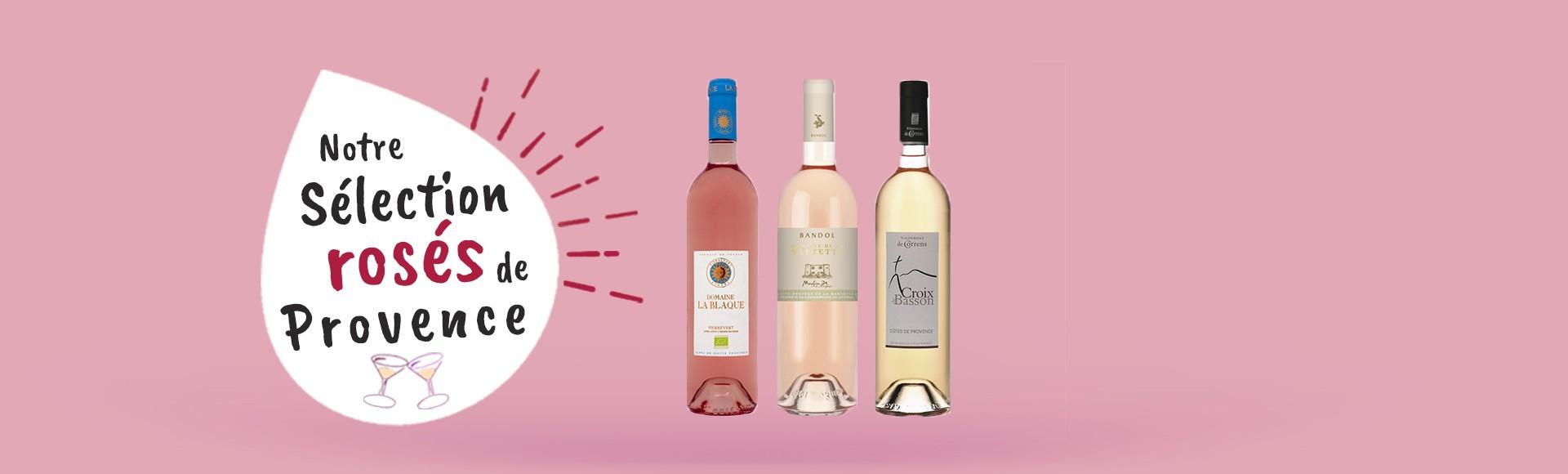 Sélection rosés de Provence